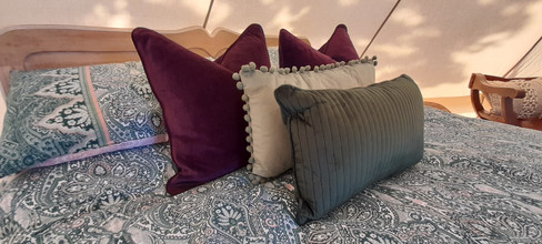 Luxury Glamping Bell Tent Ty Cynan