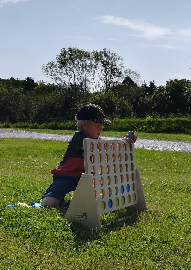 Children's activities and playground_