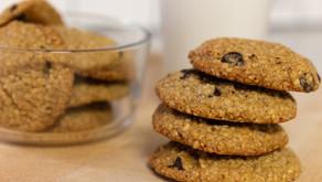 3-Ingredient Peanut Butter Banana Cookies