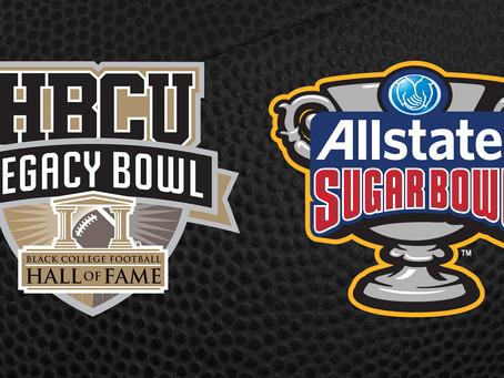 HBCU Legacy Bowl Announces AllState Sugar Bowl As A Founding Partner