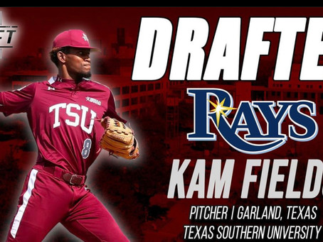 Texas Southern Pitcher Kam Fields Drafted In the 2021 MLB Draft