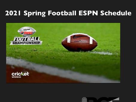SWAC Announces Spring 2021 ESPN Football Schedule