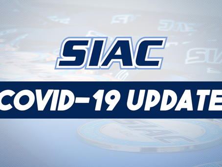 SIAC ISSUES STATEMENT REGARDING EXPECTED RETURN TO REGULAR COMPETITION BEGINNING FALL 2021
