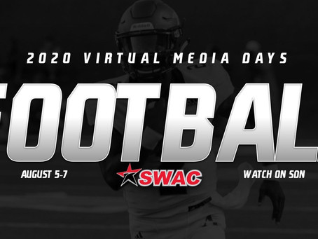 SWAC Football Virtual Media Days rescheduled for August 5-7