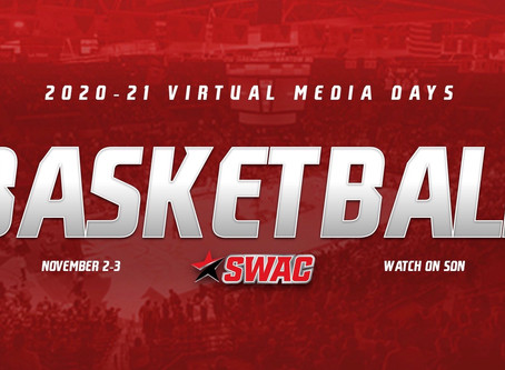 Cricket Wireless SWAC Women's Basketball Virtual Media Days set for Nov. 2-3