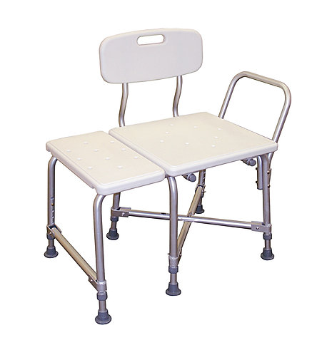 Deluxe Bariatric Transfer Bench with Cross-Frame Brace