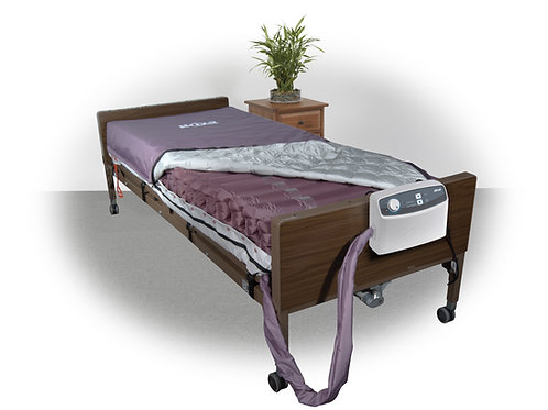 "Med-Aire 8"" Alternating Pressure and Low Air Loss Mattress System"