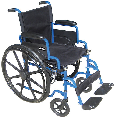 Blue Streak Wheelchair Product Weight    41.25 lbs