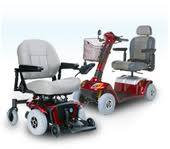 Rental Electric Scooter or Wheelchair