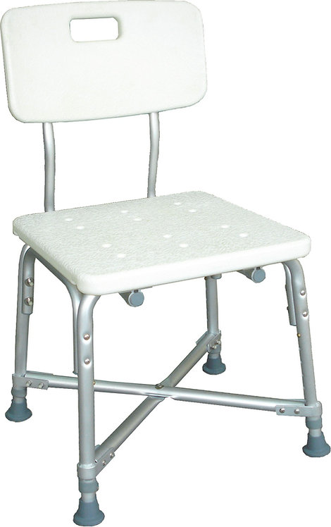 Deluxe Bariatric Shower Chair with Cross-Frame Brace