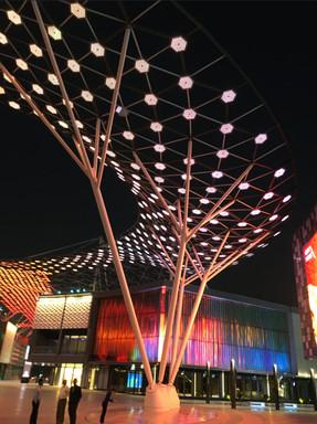 Diagrid at City Walk Dubai
