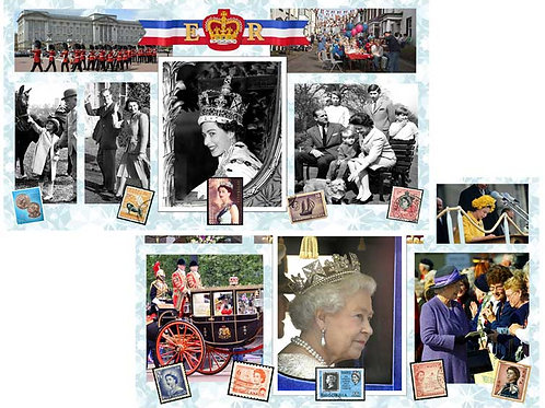 Queens Coronation Backdrops - large