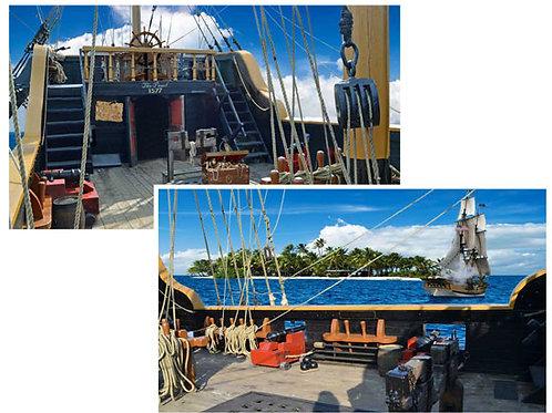 Pirate Ship Backdrops - large