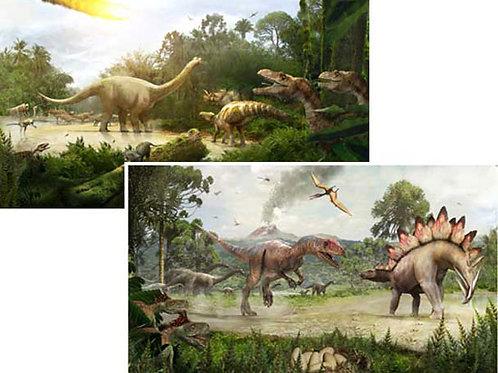 Dinosaur Backdrops - large