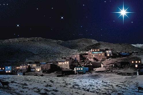 Nativity Bethlehem backdrop