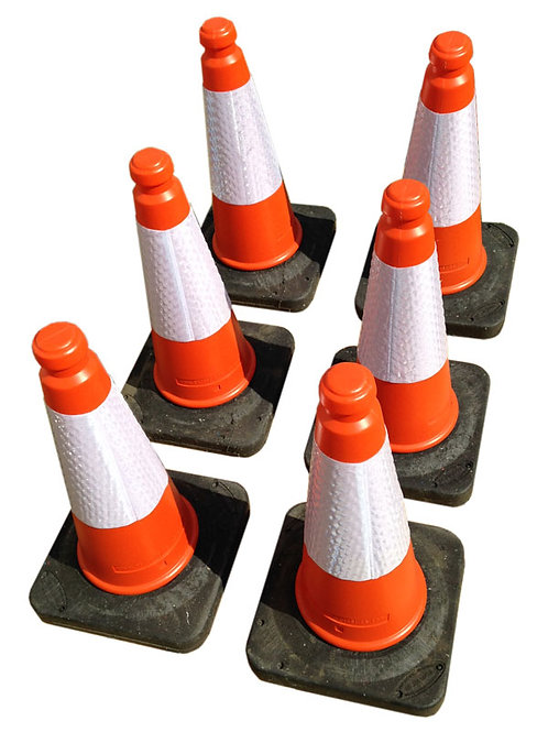 Traffic Cones - Pack of 6
