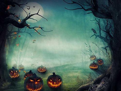 Halloween 1 Bespoke Backdrop