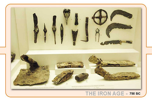 The Iron Age A4 Timeline Plate