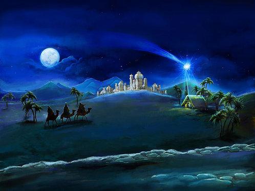 Nativity Illustration backdrop