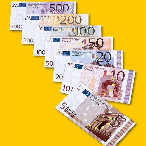 Euro fake banknotes - Magnetic