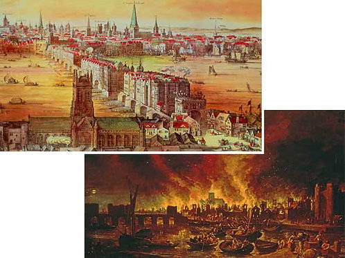 Fire of London Backdrops - large