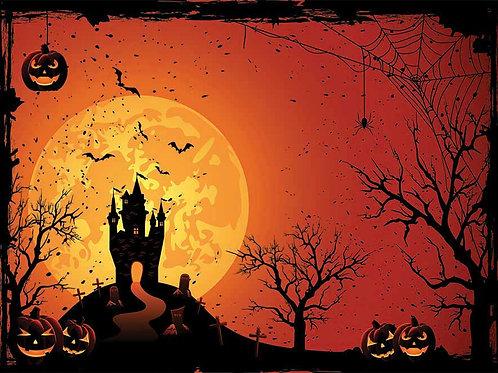 Halloween 5 Bespoke Backdrop