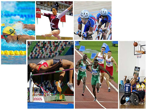 Olympic Sports Backdrops - large
