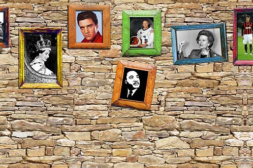 Decades Remembered Backdrop 1920-2010