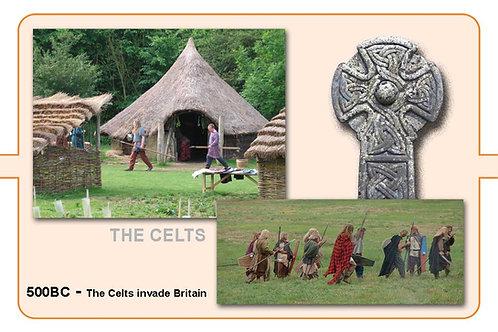The Celts A4 Timeline Plate