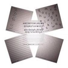 N-Z Letter Forming OHP