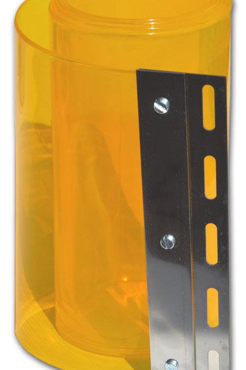 PVC Strips - YELLOW (for strip doors)
