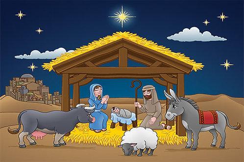 Nativity Illustration 4