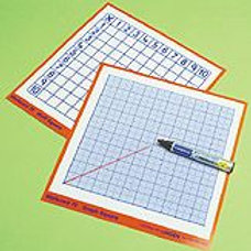 Work Cards-Multiplication Square & Graph - Pack of 30 (code B198a)