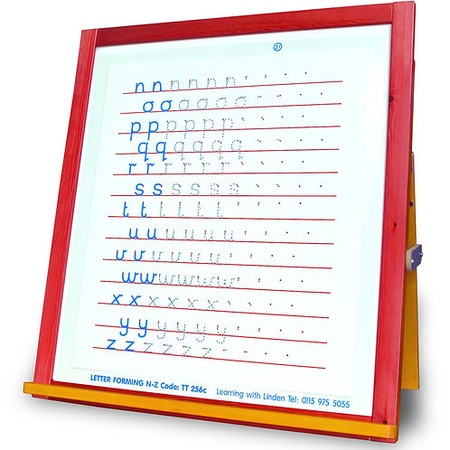 N to Z Letter Forming Overlay