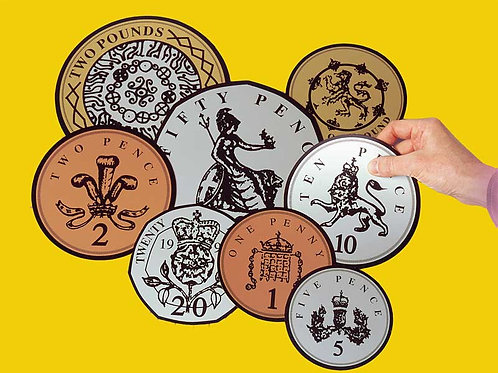 Play coins - large (3 Sets)