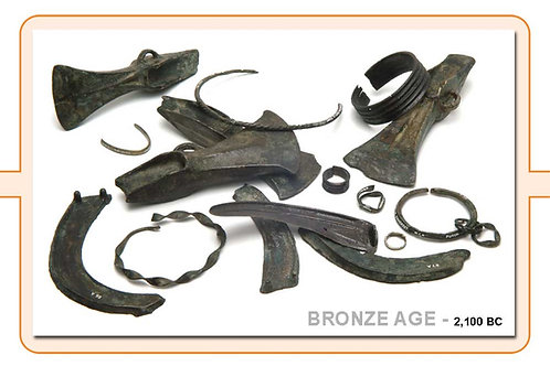 The Bronze Age A4 Timeline Plate