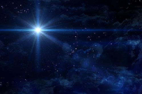 Nativity Sky backdrop