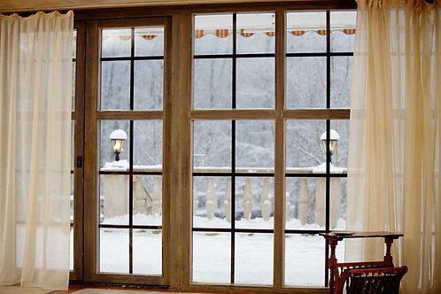 Festive Window Backdrop