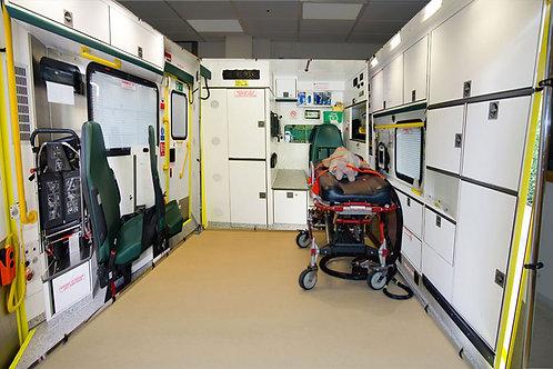 Ambulance Simulation Screens