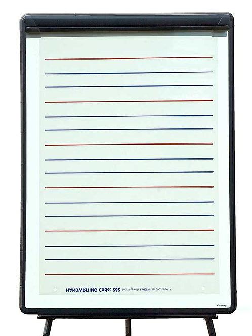 Handwriting Practice Lines Overlay
