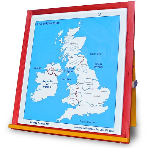 Map of the United Kingdom Overlay