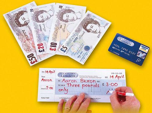 Fake banknotes - Big Value Set