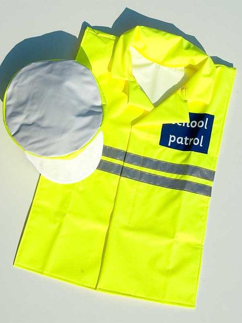School Crossing Patrol Outfit & Hat - 6-8years