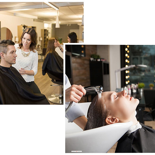 Hairdressing Salon Backdrops - small