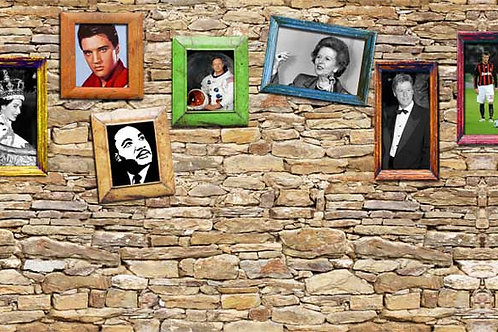Decades Remembered Backdrop 1940-2010