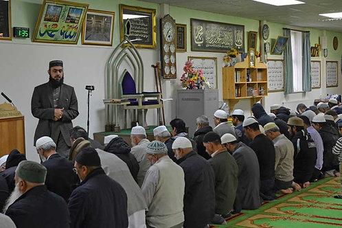 Inside a Mosque Bespoke Backdrop