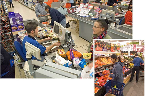 Supermarket Scene Setters - medium
