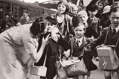 WW2 Evacuation Train Bespoke Backdrop