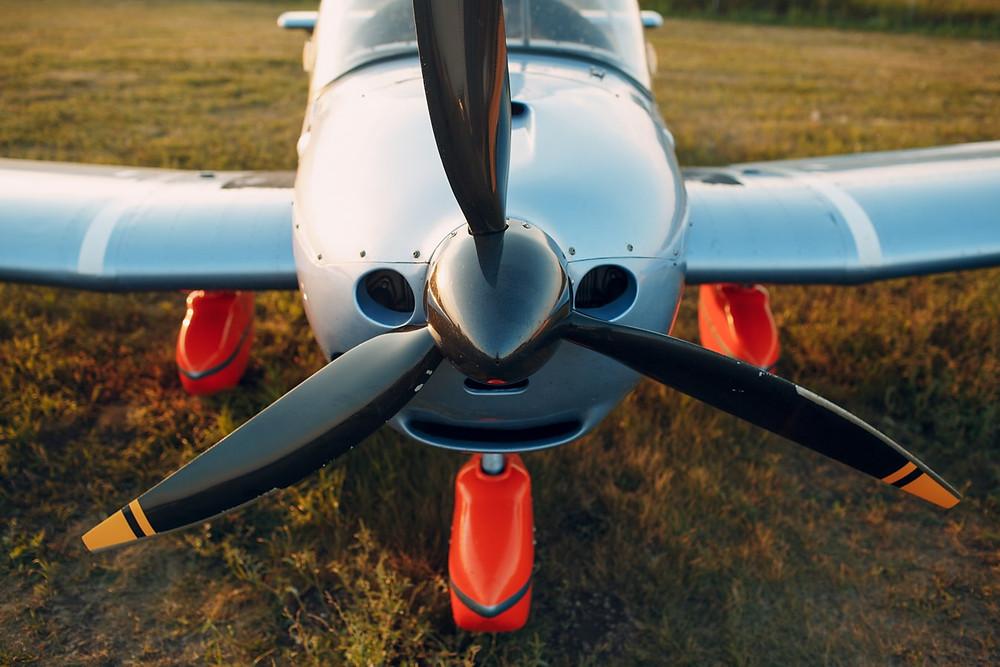Trail flight at Aeros