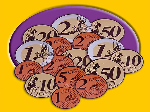 Euro Play Coins - Magnetic